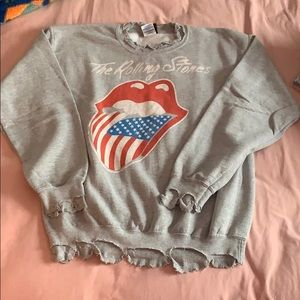 Rolling Stones sweater